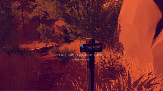 Firewatch in-game ui screenshot
