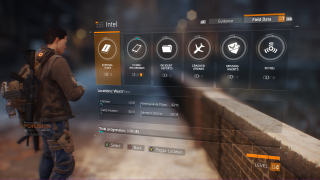 Tom Clancy's The Division in-game ui screenshot