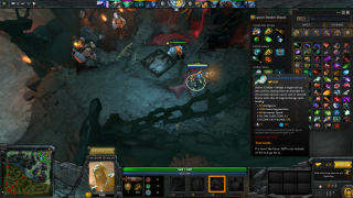 Dota 2 in-game ui screenshot