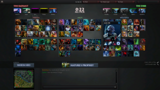 Dota 2 lobby ui screenshot